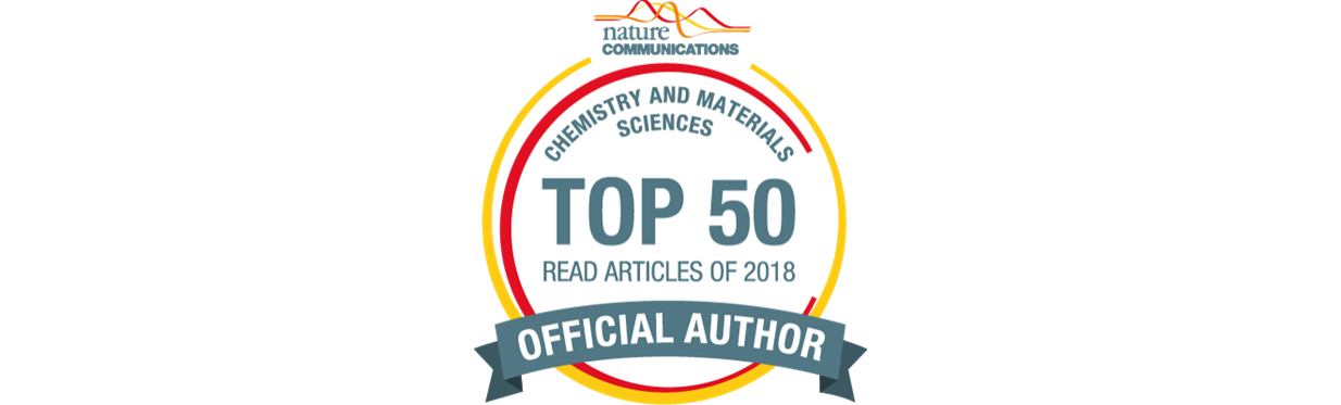 Our article featured as Top 50 most read in Nature Comm.